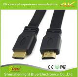 Cabo liso 2.0 da alta qualidade HDMI