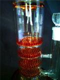 AA036 vendent la conduite d'eau de fumage en verre de recycleur
