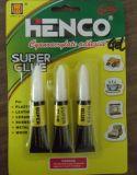 3 Gefäße, die schnellen trockenen Gel-Kleber packen