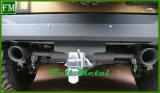 Tubo di scarico nero di serie di Magnaflow per la jeep Jk illimitato