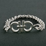 De gepersonaliseerde Armband van de Diamant van de Charme van het Roestvrij staal van de Manier van de Juwelen van Vrouwen