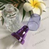 30ml cancelam o frasco de creme de vidro com a bomba da loção do ouro de Alumite para os cosméticos (PPC-GB-014)
