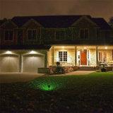 Impermeable Elf luces rojas de la Navidad y el proyector de luz láser de luz del jardín verde dinámico centelleantes estrellas