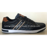 Haute qualité Casual PU Leater Chaussures Chaussures Homme Chaussures Mode