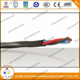 Datilografar UL 1277 3*12AWG do cabo 600 V da bandeja do Tc