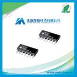 Circuit intégré de l'amplificateur de fonctionnement IC Lm324n de quarte