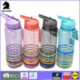 Рециркулированная бутылка воды полосы силикона 750ml