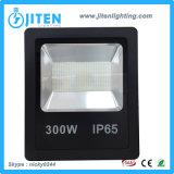 高い発電LEDの洪水ライト300W、IP65高い内腔、低い消費保証2年の
