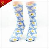 Polyester-Gefäß-Tierdruck-Socken