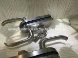 레버 손잡이를 가진 유리제 문 죔쇠 자물쇠