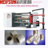 Hochgeschwindigkeits-CPP Film-aufschlitzende Maschine der Fhqj Serien-