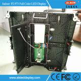 Painel de indicador interno do diodo emissor de luz da cor P2.973 cheia para o uso Rental