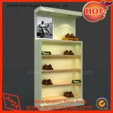 De houten Showcase van de Vertoning van de Schoenen van de Plank van de Vertoning van Schoenen