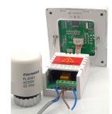 Heizungs-Thermostat im Bodenbelag-Heizsystem