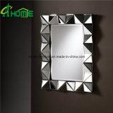 Vierecks-Aufbau-in voller Länge Wand-Spiegel mit dem Licht geleuchtet