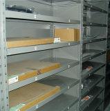 Prateleira do armazenamento com revestimento do pó