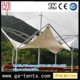 Tienda extensible blanca de la estructura de acero PVDF para el parque