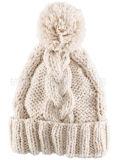 Шлем Beanie Knit шерстей классицистической оптовой продажи типа Unisex с шерстью POM Poms Raccoon