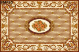 花模様のカーペットのタイルの磨かれた水晶陶磁器の床タイル1200X1800mm (BMP66)