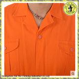 Uniformi professionali all'ingrosso del grembiule del lavoro della fabbrica, tuta uniforme del lavoro, usura su ordine del lavoro