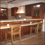 Cabina de cocina moderna de madera de roble del estilo