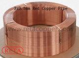 Wundkupfer-Ring der Größen-12.7mm waagerecht ausgerichteter für Klimaanlage