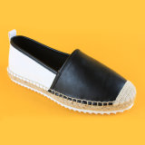 Beiläufige Art-Form-Frauen-Dameneva alleinige Slip-on PU-Plattform-Espadrille-Schuhe