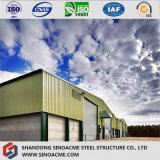 Armazém estrutural claro Prefab/armazenamento com ISO. Certificado do Ce