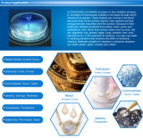 Roestvrij staal de Ultrasone Reinigingsmachine van de Juwelen van 1.3 L