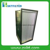 Filtro de aire profundo del plisado HEPA H13 para industrial