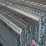 Piattaforma composita galvanizzata ondulata del metallo del piatto d'acciaio