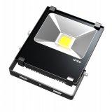 Lampe extérieure mince de projecteur de la haute énergie 20W DEL de la couleur IP65 noire