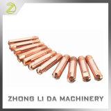 Extremidades de cobre por encargo de la soldadura
