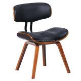 의자 (W13888-4A)를 식사하는 가짜 가죽 Bentwood