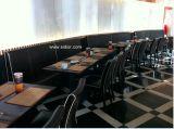 (SD-4003) 가구 나무로 되는 부스 소파를 식사하는 현대 호텔 대중음식점