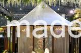 Tienda de campaña de camping al aire libre impermeable de Glamping