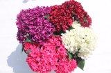 Fiori di seta poco costosi di falsificazione del Hydrangea dei fiori artificiali per i grossisti domestici di cerimonia nuziale
