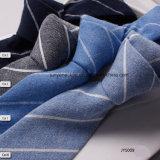 Fournisseur de toile de la Chine de la cravate de Customed des hommes rayés tissés chauds de loisirs