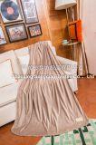 二重ミンクの羊毛毛布か航空会社毛布