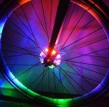 Sûreté de roue de rai de vélo avertissant des pivots de bicyclette de DEL allumant la lumière