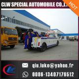 熱い販売のDongfeng 6の車輪5tonのウィンチの道のレッカー車