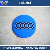 Emblema automatico variopinto dell'autoadesivo del centro di rotella del bicromato di potassio dei 4 del PC ABS di marchio