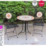 Vector y sillas determinados de los bistros del mosaico