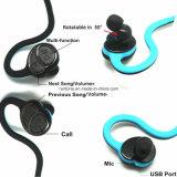 熱い販売のスポーツの防水Sweatproofステレオの無線Bluetoothの耳のヘッドホーン