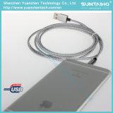 Cavo veloce d'argento del lampo del caricatore per iPhone5/6/7