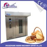 Four rotatoire de traitement au four de pain français pour le matériel de nourriture comprenant 2 crémaillères
