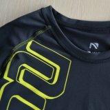 Camisas modificadas para requisitos particulares de la compresión del estiramiento al por mayor para los hombres