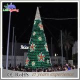 LED-Metallriesiger Baum-im Freienweihnachtsstraßen-Dekoration-Licht