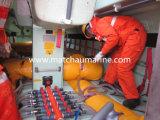 Het Testen van de Lading van de reddingsboot en van de Doorgang de Zakken van het Gewicht van het Water van het Hoofdkussen