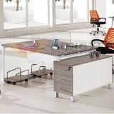 Metal laminado calidad y sitio de trabajo de madera de la oficina (HY-NNH-Z09)